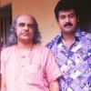 Bharat gopy and manoj K Jayan-Shooting of Vardhakyapuranam