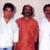 Kamal Haasan and Madhu with Bharat Gopy - Puja of Ulsavappittennu