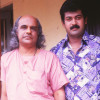 Bharat gopy and manoj K Jayan-Shooting of Vardhakyapuranam