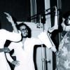 Bharat Gopy with Johnson and Vani Jayaram - At a Recording