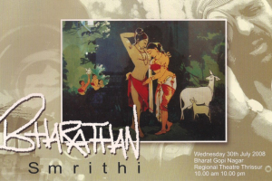 Invite of the Bharathan-Foundation-honoring-Bharat-Gopy-30-July-2008