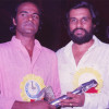 Bharat Gopy and KJ Yesudas - Film Critics Award Ceremony - 1983