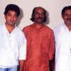 Kamal Haasan and Madhu with Bharat Gopy - Puja of Ulsavappittennu