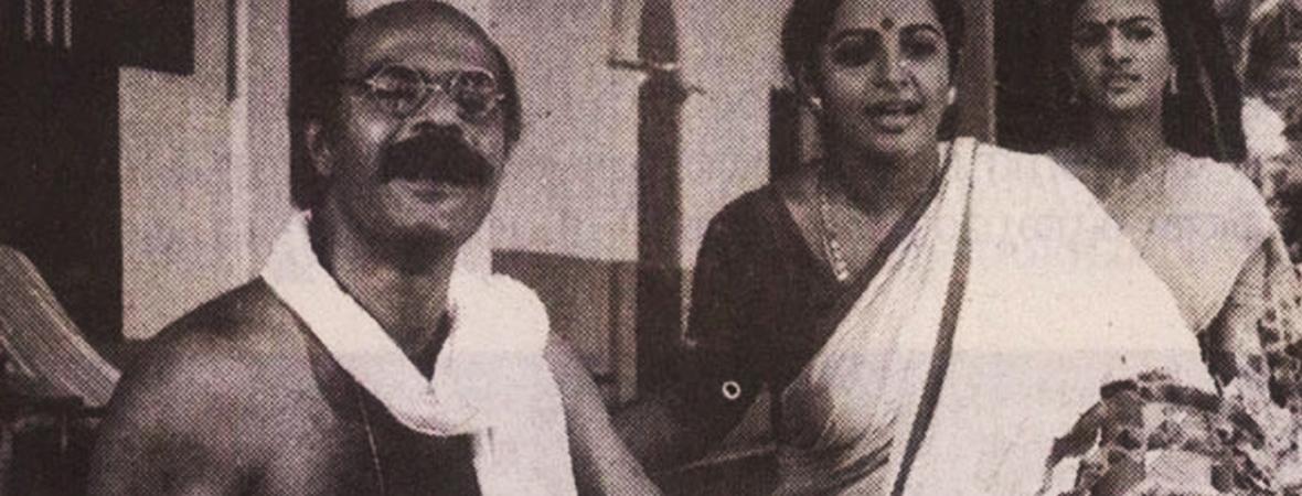 Bharat-Gopy-and-Srividya-in-Panchavadippaalam-1984