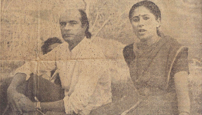 Bharat Gopy's Interview in the Times of India - 1985
