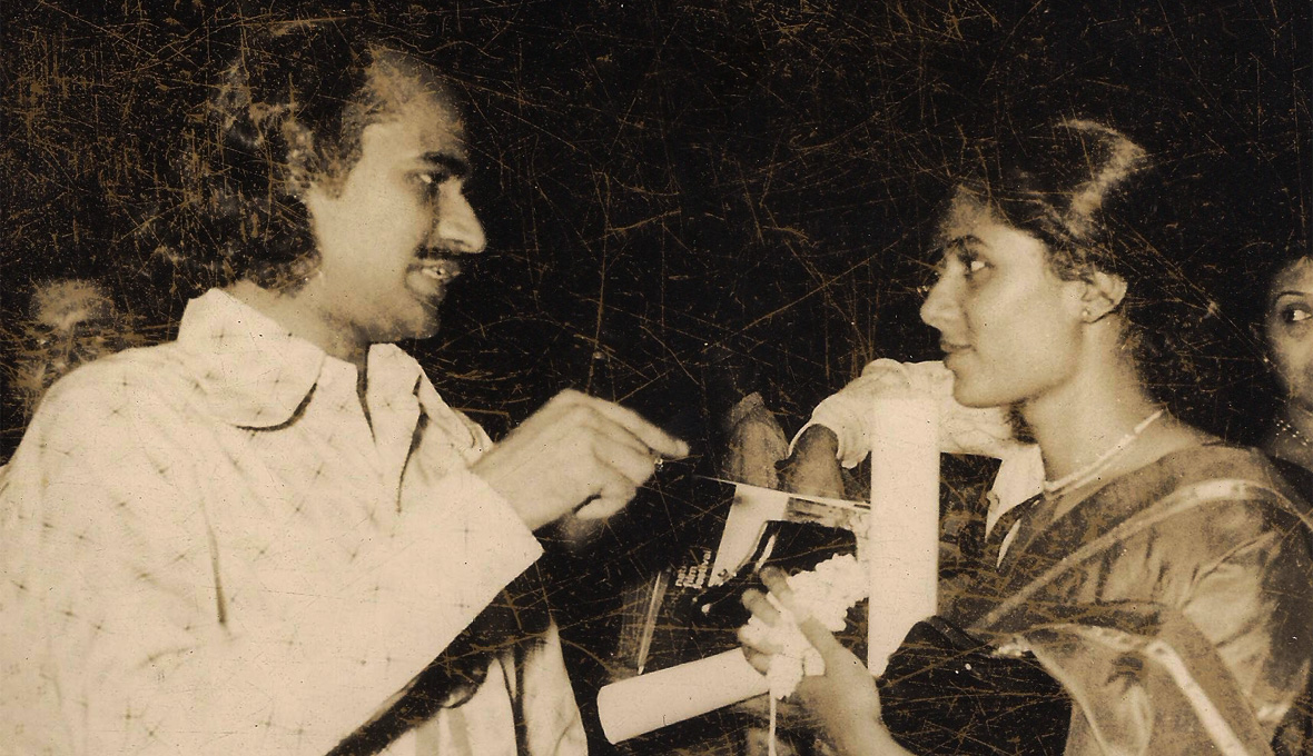 Bharat-Gopy-with-Smita-Patil-at-the-National-Film-Awards-1978