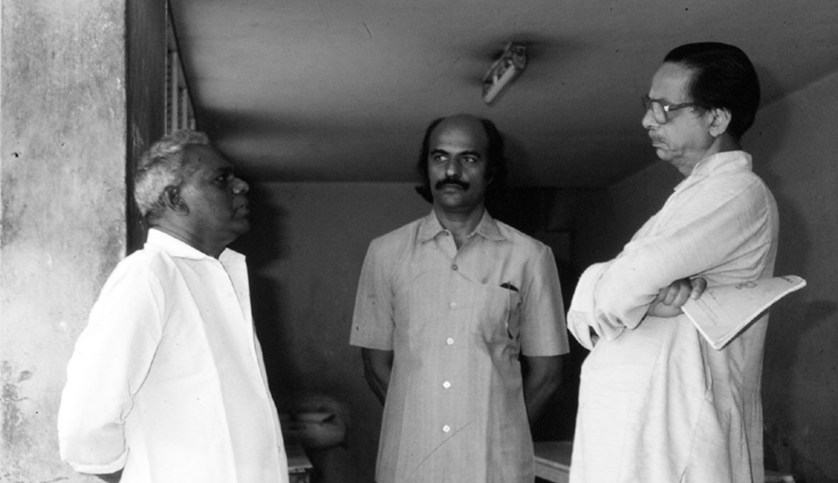 G Devarajan-Bharat-Gopy-Kavalam-Narayana-Panikker-Ulsavapittennu-Shoot
